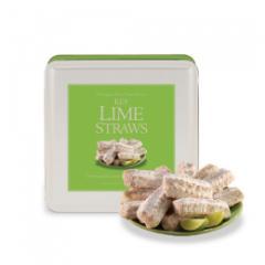 Key Lime Straws