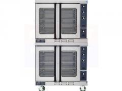 Natural Gas Double Stack Convection Oven, Duke