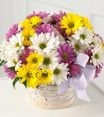 The FTD® Sunny Skies™ Daisies Bouquet