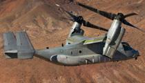 Helicopter transport V-22 Osprey