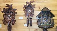 Black Forest Cuckoo & Mini Clocks