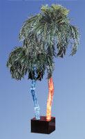 AP-7D Aqua Palm Floor Lamp