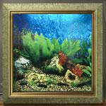 AV500 Picture Frame Aquarium - Aquarius