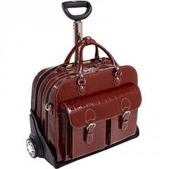 McKlein Women's Leather San Martino Briefcase