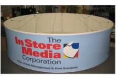3' Tall x 10' Diameter Sign