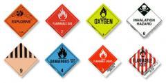 Hazardous Material Labels