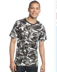 Mens Perfect Weight Camo Crew Tee