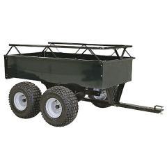 Agri-Fab Dump Cart Steel Atv Tow Behind Tandem