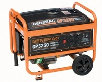 Generac GP3250 Portable Generator