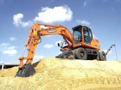 Doosan Construction DX140W Wheel Excavators
