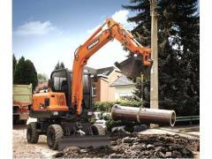 Doosan Construction DX55W Wheel Excavators