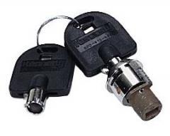 High Security Tubular Lock & Key Set (No