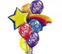 Shooting Star Theme Balloon Bouquet EF016