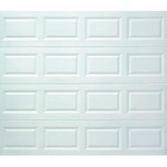 Holmes White Solid Steel Garage Door