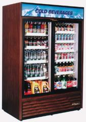 Glass Door Refrigerator, True TRUGDM49W