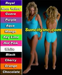 One Piece Suits in 13 Colors Swimwear