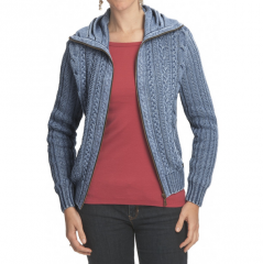 Blue Willi's Cable-Knit Cardigan Sweater - Zip
