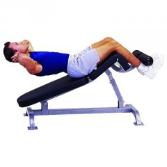 Adjustable Sit Up / Decline Bench, QWT-134