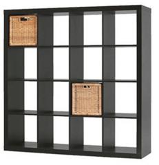 Black-Brown Bookcase