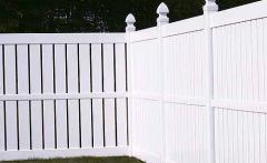 Millbrook Semi-Privacy Vinyl Fence