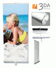 Single Side Retractable Banner Stand
