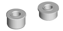 Solid Stepped and Flanged Bearings