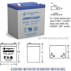 Alarm System Batteries