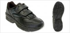 Shoes Men's Black Classic Leather EZ-Strap SWC601