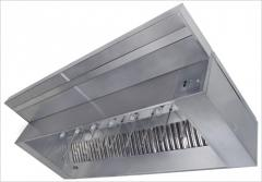 Self-Cleaning Hood System