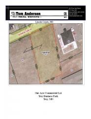 "One Acre Commercial Lot ""Troy Business"