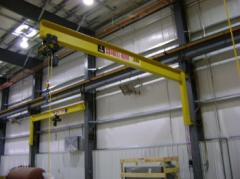 Wall Mounted Full Cantilever Jib Cranes