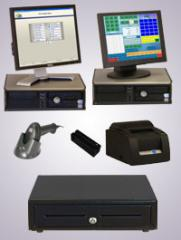 Dell Optiplex Touch Point Of Sale System With Back