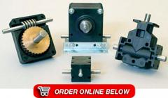 Right Angle Gearboxes & Speed Reducers