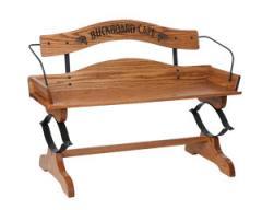 Oak Buckboard Bench