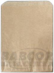 Kraft & White Merchandise Bags