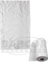 White Opaque Roll Garment Bags S50602