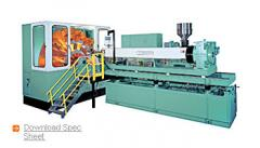 Vertical Rotary Extrusion Blow Molding Machine