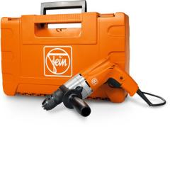Universal two-speed power drill with 3/8 in