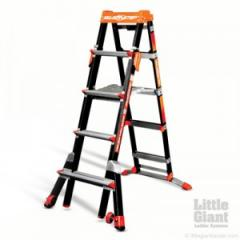 Type 1A Fiberglass Select Step 5-8 Ladder