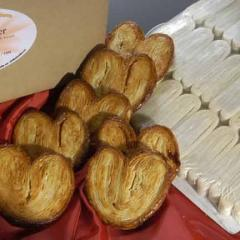 2.5 oz. Individual Raw Frozen Palmiers