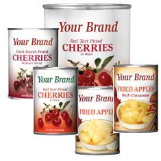 Canned Cherries, DSP w/ sugar