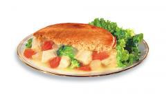 Fancy Vegetable Mrs. Budd's chicken pies