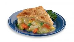 Gourmet White meat Mrs. Budd's chicken pies