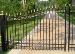 Heavy Duty Welded Aluminum Gates