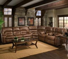 Reclining Sectional Sofa, Franklin 596