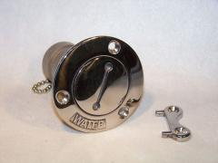 Stainless Boat Water Tank Deck Fill port W/key 1