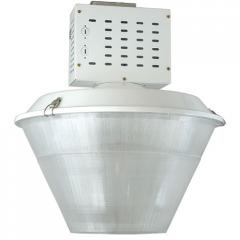 Lowbay fixture with electronic HID ballast and