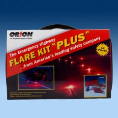 Flare Kit Plus Emergency Kit