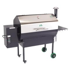 Jim Bowie Stainless Steel pellet grill
