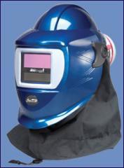 Pureflo Blue Flash Welding Helmet